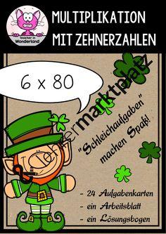 Mathe: Merkplakate zu den Grundrechenarten – Mathematik | Teacher in ...