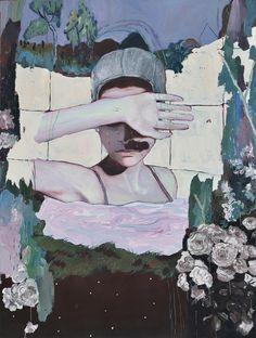 The mixed media artwork of Alexandra Levasseur. Art Inspo, Kunst Inspo, Painting Inspiration, Design Inspiration, Art And Illustration, Guache, A Level Art, Art Design, Oeuvre D'art