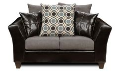 Chelsea Home 4170-L Holly Loveseat