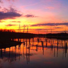 Sunset on Lake Fork 2012