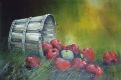 Jerry Yarnell Inspiration of Painting Odd Apple beginner oil painting techniques art instructional dvd Painting Techniques Art, Oil Painting For Beginners, Acrylic Painting Tutorials, Painting Videos, Painting Lessons, Acrylic Art, Fall Canvas Painting, Apple Painting, Autumn Painting