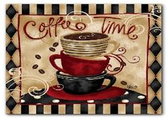 Wall Decoration Coffee Decor for Kitchen