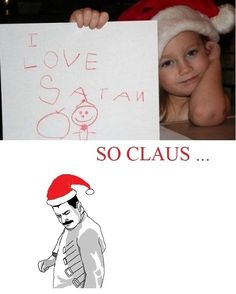 Satan Claus  - funny pictures #funnypictures