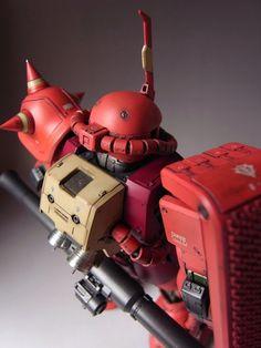 "Custom Build: MG 1/100 Char's Zaku II ""Detailed"" - Gundam Kits Collection News and Reviews"