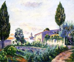 Saint-Paul de Vence, Henri Manguin, 1938