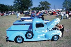 Vintage vehicles at Cruisin' the Coast. The event is held annually in October on the Mississippi Gulf Coast...