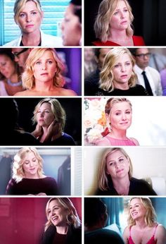 the way arizona looks at callie >