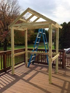 Freestanding Pergola Ideas Canopies - Backyard Pergola Farmhouse - Pergola Ideas On A Budget Front Doors - - Pergola Videos Terraza Jardin Patio Pergola, Wooden Pergola, Pergola Plans, Backyard Patio, Backyard Landscaping, Pergola Ideas, Pergola Screens, Curved Pergola, Modern Backyard