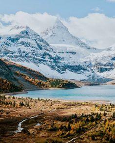 Mt Assiniboine over Magog Lake (Assiniboine Provincial Park, BC) by Victor Aerden (@victoraerden) on Instagram
