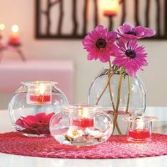 So many DIY Clearly Creative ways to decorate... look at the different examples at Http://liankingscott.partylite.co.uk