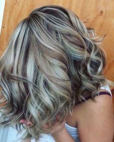 Popular Fall Hair Color Ideas For Women 12 Hair Color And Cut, Haircut And Color, Fall Hair Colors, Brown Hair Colors, Gray Hair Highlights, Black Balayage, Balayage Hair, Low Lights And Highlights, Bayalage