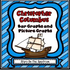 Columbus Day Bar Graph and Picture Graph worksheets and activities. Included in this Columbus Day packet are two easy to assemble cubes, two graphing mats, and 4 worksheets with answer keys.Great for centers, partner activity, or individual work.