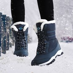 Cheap winter shoes, Buy Quality shoes with directly from China boots women platform Suppliers: Women boots non-slip waterproof winter ankle snow boots women platform winter shoes with thick fur botas mujer