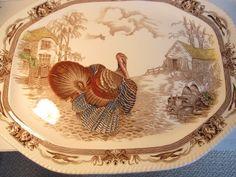 Turkey Platter by Johnson Brothers Barnyard King Made in England. $199.00, via Etsy.