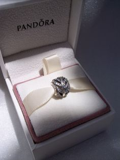 Authentic Pandora Charm Light As A Feather CZ by JEWELSELAGANT, $35.00