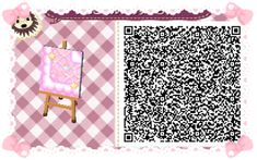 Animal Crossing: New Leaf & HHD QR Code Paths Star crossed Pastel  boarder #1 To go with star crossed path<--