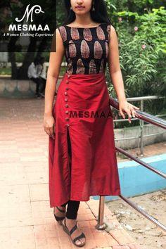 Kalamkari dresses, Kurti styles, Designer dresses indian, Salwar pattern, Dress neck designs, Churidar designs - Custom made party wear Indian Outfits Inquiries➡️ nivetasfashion@gmail com whatsa - #Kalamkaridresses
