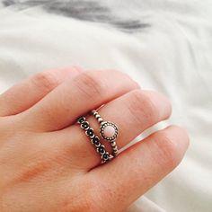 pandora birthstone ring - Google Search