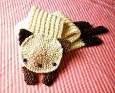 #scarf #crochet #cat