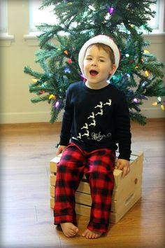 DIY Christmas PJs With Silhouette's Heat Transfer Material…Plus A Giveaway!