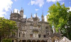 Quinta da Regaleira palace in Sintra, Portugal