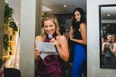 The maid of honour giving her speech during the wedding reception. Maid Of Honor, Wedding Reception, Gardens, Victoria, Photography, Maid Of Honour, Marriage Reception, Bridesmaid, Photograph
