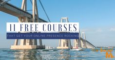 There are endless free courses and other resources online which you can use to learn how to get more out of your online marketing efforts.