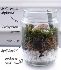DIY Sea Witch Jar Spell for Elemental Magick - Moody MoonsYou can find Witchcraft diy and more on our website.DIY Sea Witch Jar Spell for Elemental Magick - Moody Moons Wiccan Decor, Wiccan Crafts, Spiritual Decor, Water Witch, Sea Witch, Baby Witch, Witch Alter, Jar Spells, Witchcraft Spells