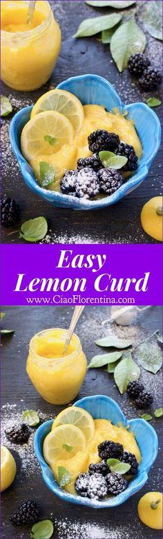 Easy lemon spread recipes