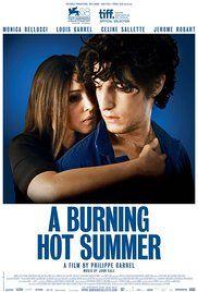 Un verano ardiente Poster