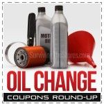 Oil Change Coupons Weekly Round-up!
