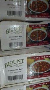 Blount: Minestrone Soup 2/4 Lb.