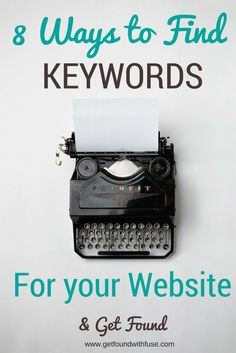 SEO | Search engine optimization | How to find the best keywords | how to get blog found online
