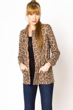 Cheetah Utility Jacket