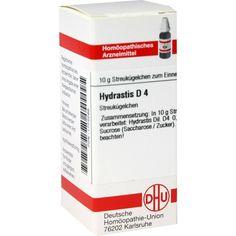 HYDRASTIS D 4 Globuli:   Packungsinhalt: 10 g Globuli PZN: 01773299 Hersteller: DHU-Arzneimittel GmbH & Co. KG Preis: 5,19 EUR inkl. 19 %…