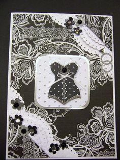 Lingerie Bridal Shower handmade card
