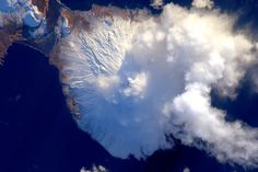 Aleutian island volcano, by Scott Kelly