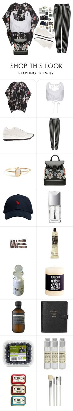 """""""Premonitions"""" by leapastel-luv ❤ liked on Polyvore featuring H&M, Sandy Liang, Opening Ceremony, Glamorous, Alexander McQueen, October's Very Own, Christian Dior, Aesop, Chapstick and Nikon"""