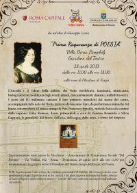 """A Villa Doria Pamphilj si ripristinano """"le Ragunanze"""""""