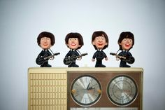 Vintage 1964 Collectible The Beatles Remco Dolls  by TheNeonOwl, $325.00