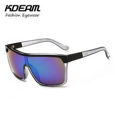 83cbd898066c1 KDEAM See-through Frame Sport Mens Sunglasses Brand Design Steampunk  Googles For 2016 Summer oculos de sol masculino KD82J   Price   US  8.61    Up To 18% ...