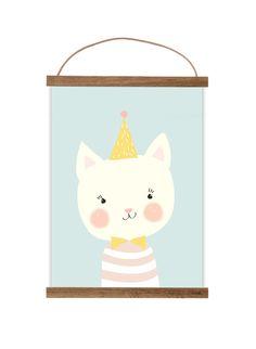"""Bilder - Kunstdruck / Bild """"kleines Kätzchen"""" - ein Designerstück von Mimirella-aus-Liebe bei DaWanda"""