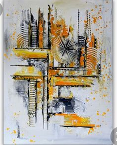 Grey Abstract Art, Abstract Canvas, Acrylic Painting Techniques, Acrylic Paintings, Amazing Art, Modern Art, Artwork, Abstract Art Paintings, Art Deco