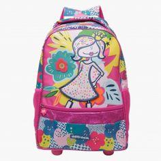 Happy House Graphic Print Trolley Backpack Happy House, Girl Backpacks, Baby Shop, Vera Bradley Backpack, Backpack Bags, Graphic Prints, Girl Outfits, Children, Best Deals