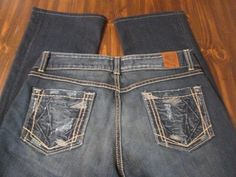 Fab find BKE denim Culture stretch BOOT jeans Size: 31 x 33 Good Condition Very stylish #BKE #BootCut