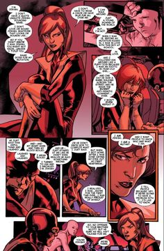 """Kitty Pryde being flawless and pointing out what was wrong with Alex Summers's """"m-word"""" speech"""