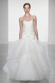 "Kenneth Pool ""Genevieve"" - #weddings #embellishment #bride"