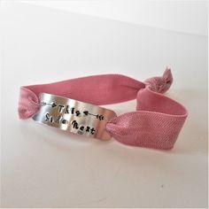 nursing breastfeeding bracelet, this side next hand-stamped cuff, stretch wrist wrap, new mum jewellery, mom gift by jcudesigns on Etsy