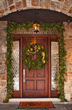 From: Amanda Carol at Home  Traditional Home  Christmas Porch