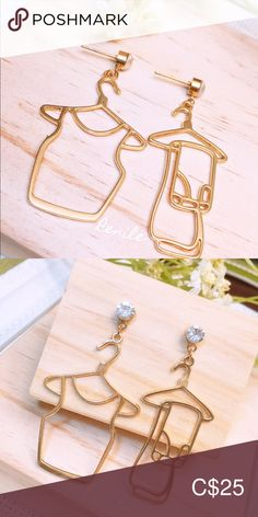 👚 Funny Top & Pants Earrings👖 ⚠️  FREE change to painfree earclips ⚠️  · 100% Brand NEW · Material: Alloy, Rhinestones  · Needle Material: Steel  · Size:  Top - W 2.9 cm x H 5.3 cm             Pants - W 2.2 cm x H 5.3 cm · Sold only in pairs · All pictures took from the real items. However, as the actual colors you see will depend on your monitor, we cannot guarantee that your monitor's display of any color will be accurate. Jewelry Earrings Top Funny, All Pictures, Rhinestones, Monitor, Arrow Necklace, Women Jewelry, Pairs, Shop My, Change